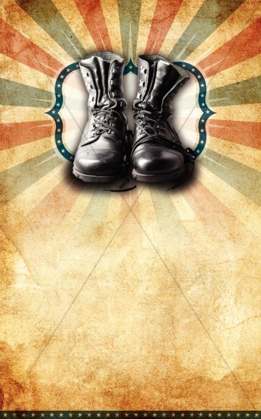 Combat Boots Bulletin Cover