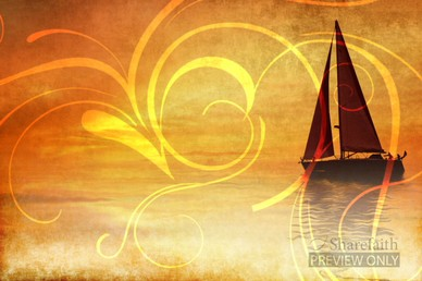 Sailboat Worship Video Background