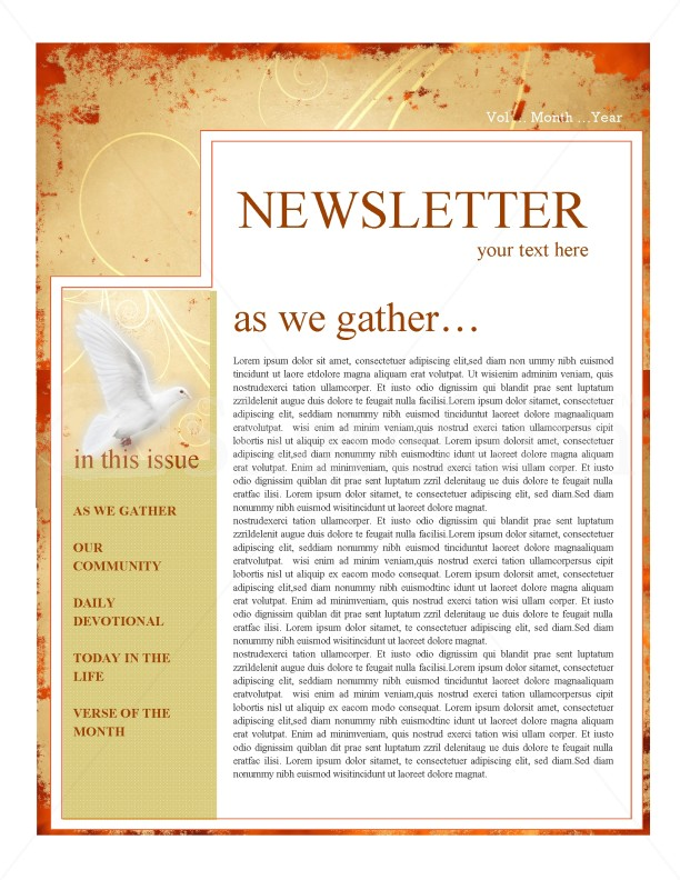 Pentecost Church Newsletter