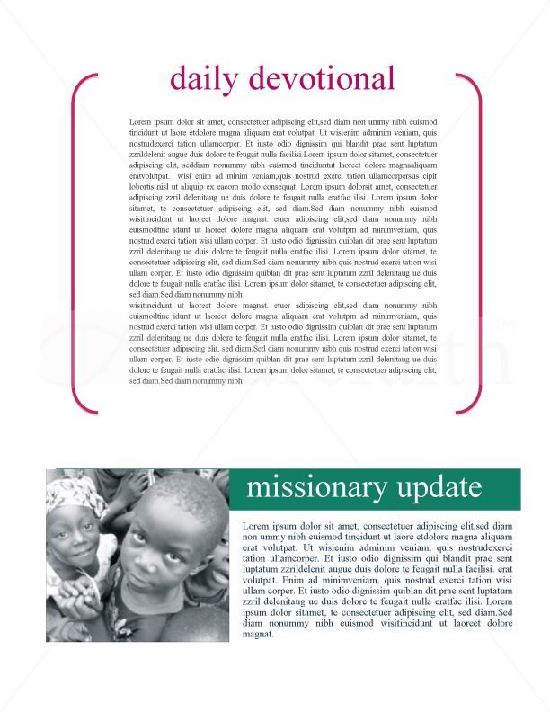 Fellowship Church Newsletter
