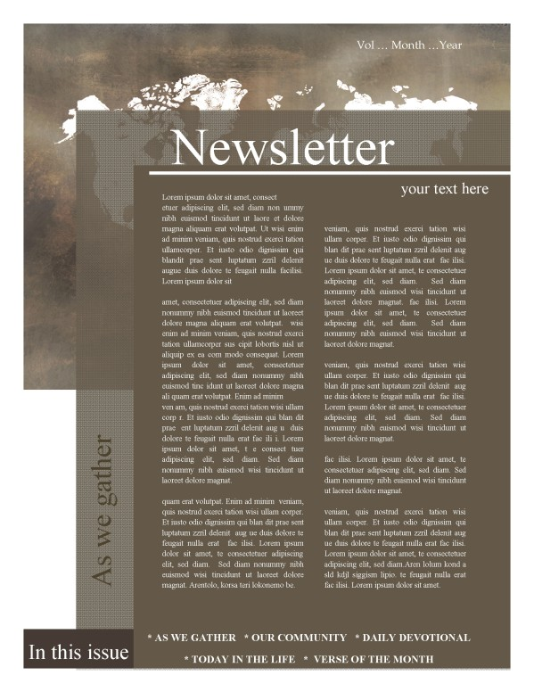 Mission Church Newsletter