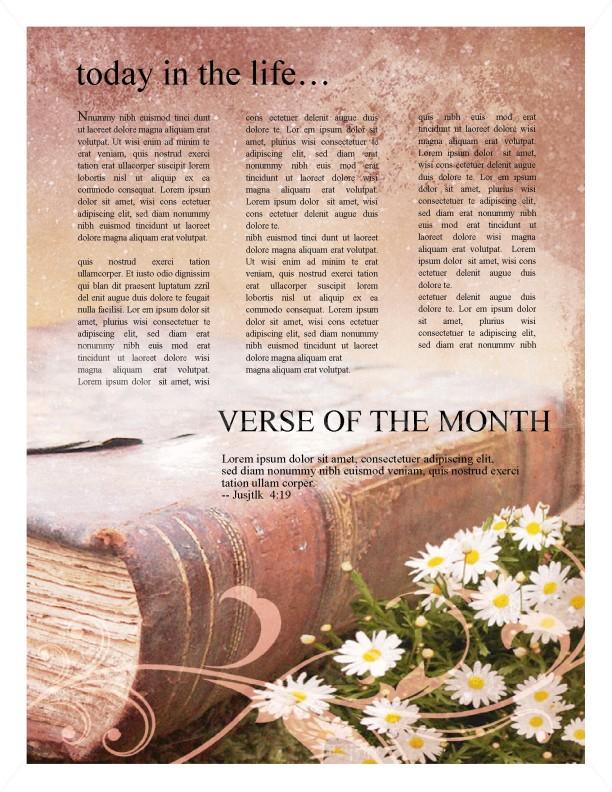 Scripture Church Newsletter