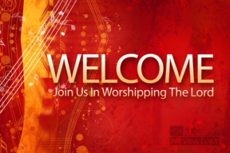 Welcome Church Video Loops