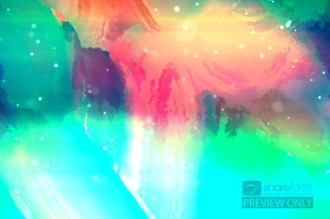 Color Abstract Worship Video