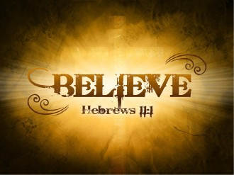 Believe Sermon PowerPoint Template