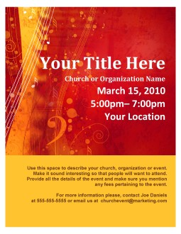 Worship Flyer