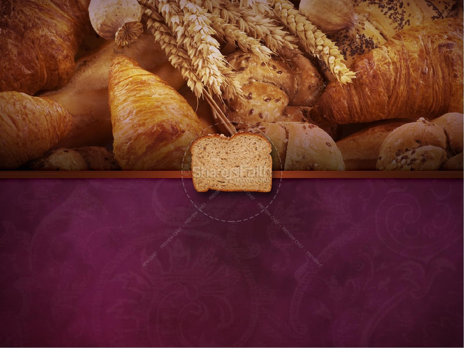 Bread Of Life PowerPoint Template