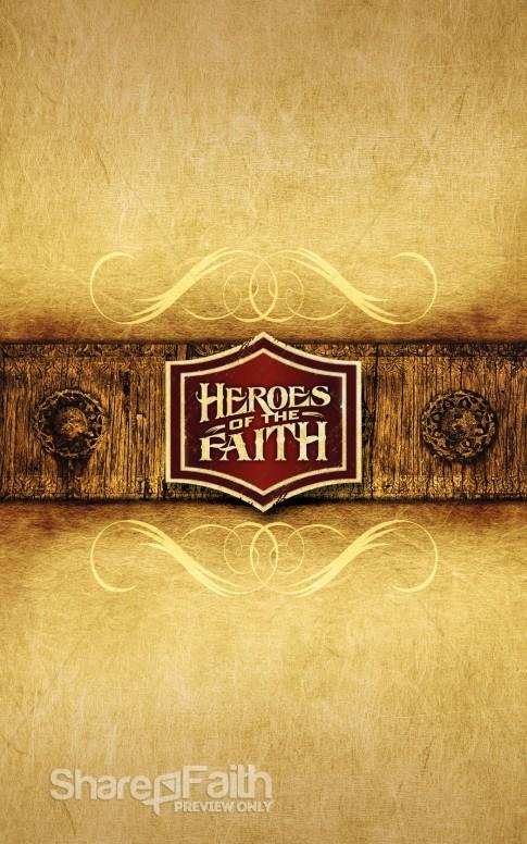 Heroes of Faith Bulletin Cover