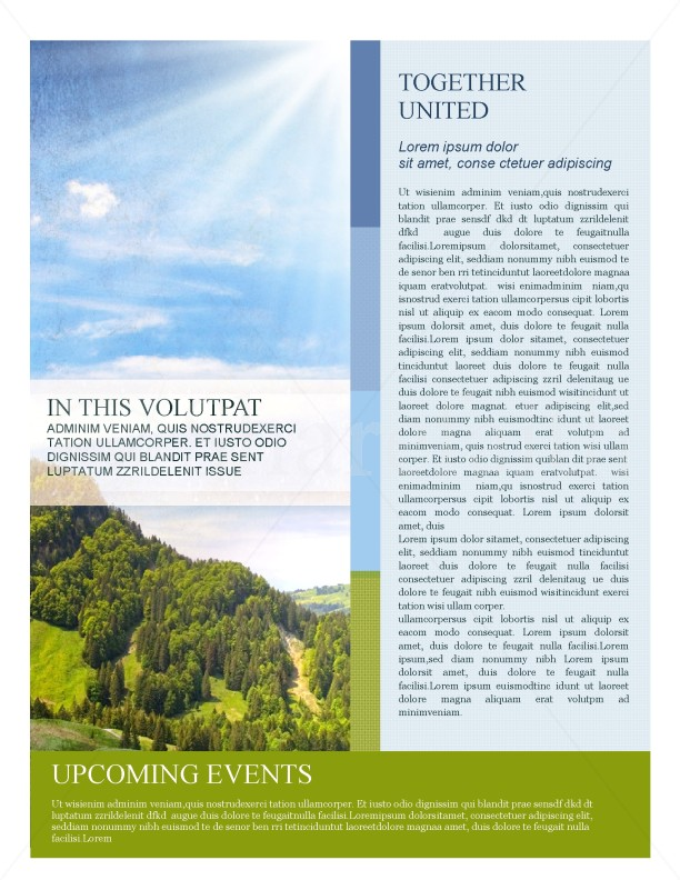 Nature Newsletter Template | page 2