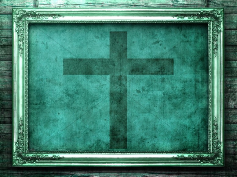 Cross Picture Worship Background