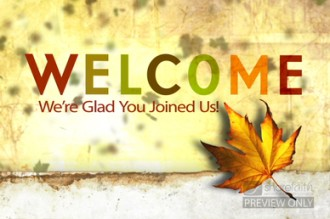 Fall Welcome Video Loop   Church Motion Graphics