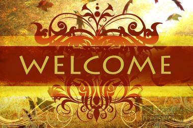 Church Fall Welcome Video