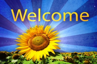 Flower Welcome Video