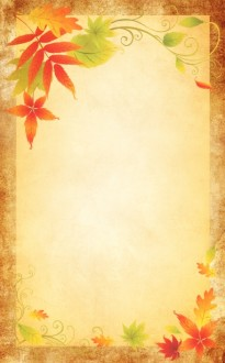Autumn Celebration Bulletin Cover