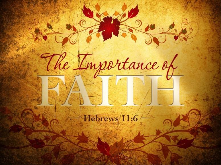 Faith PowerPoint Sermon Template