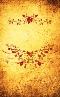 Autumn Design Church Bulletin Cover
