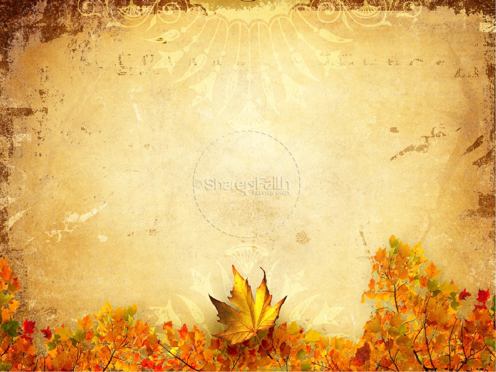 Fall Church Graphics PowerPoint