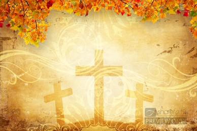 Fall Cross Worship Video Loop