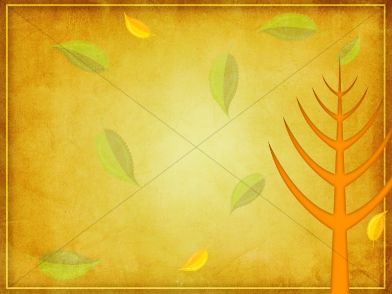Leaves Changing Worship Background