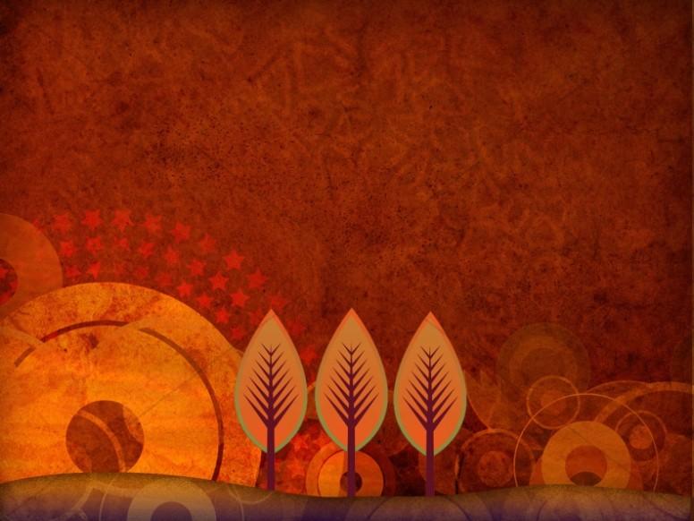Fall Scene Worship Background