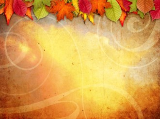 Leaves Change Color Worship Background