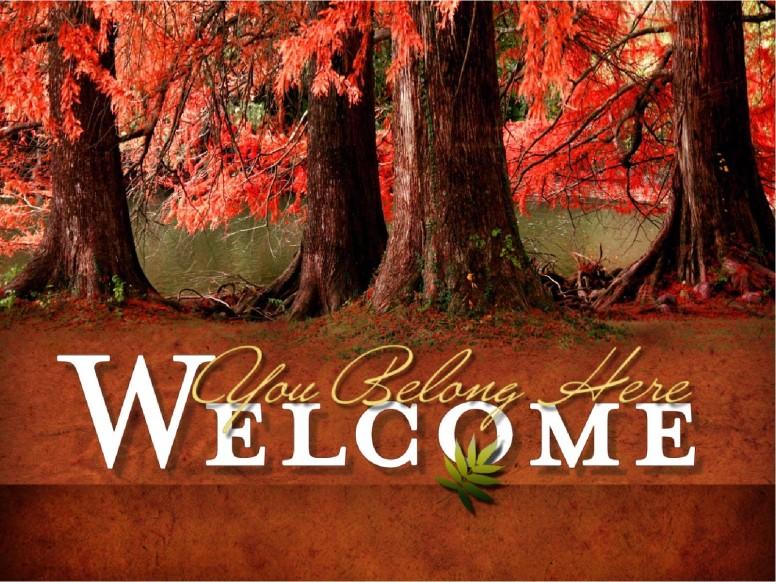Fall Foliage Sermon PowerPoint Template