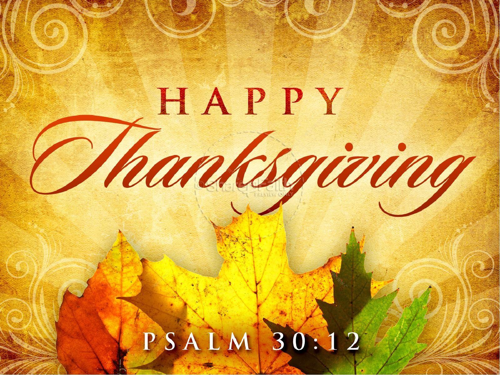offer unto god thanksgiving