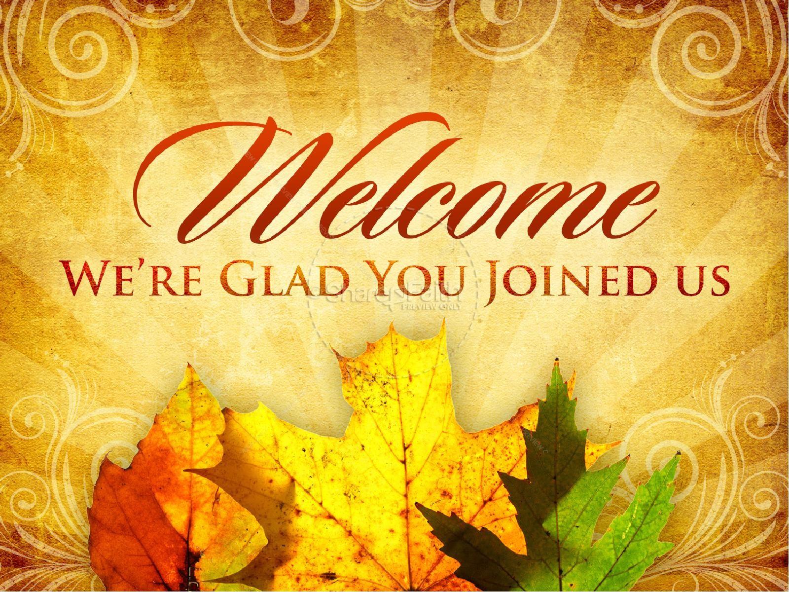 Happy Thanksgiving PowerPoint Sermon