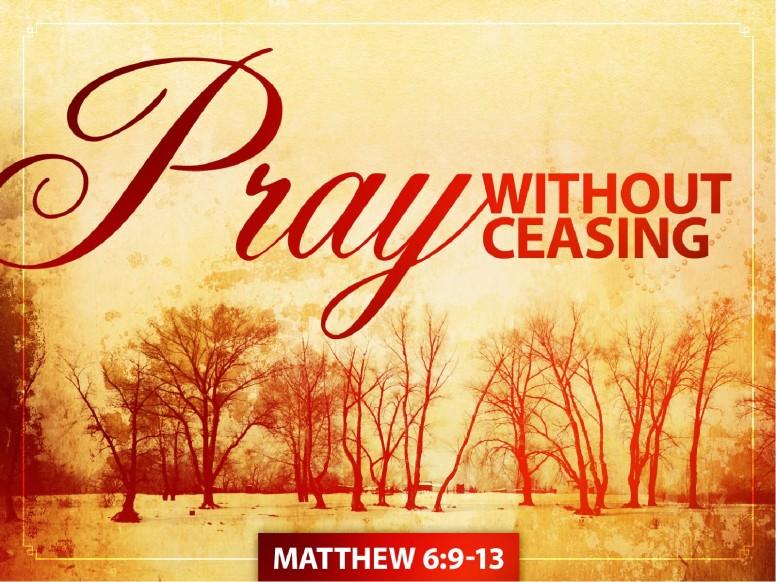 Prayer PowerPoint