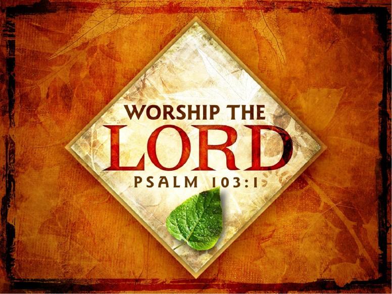 Worship PowerPoint Template