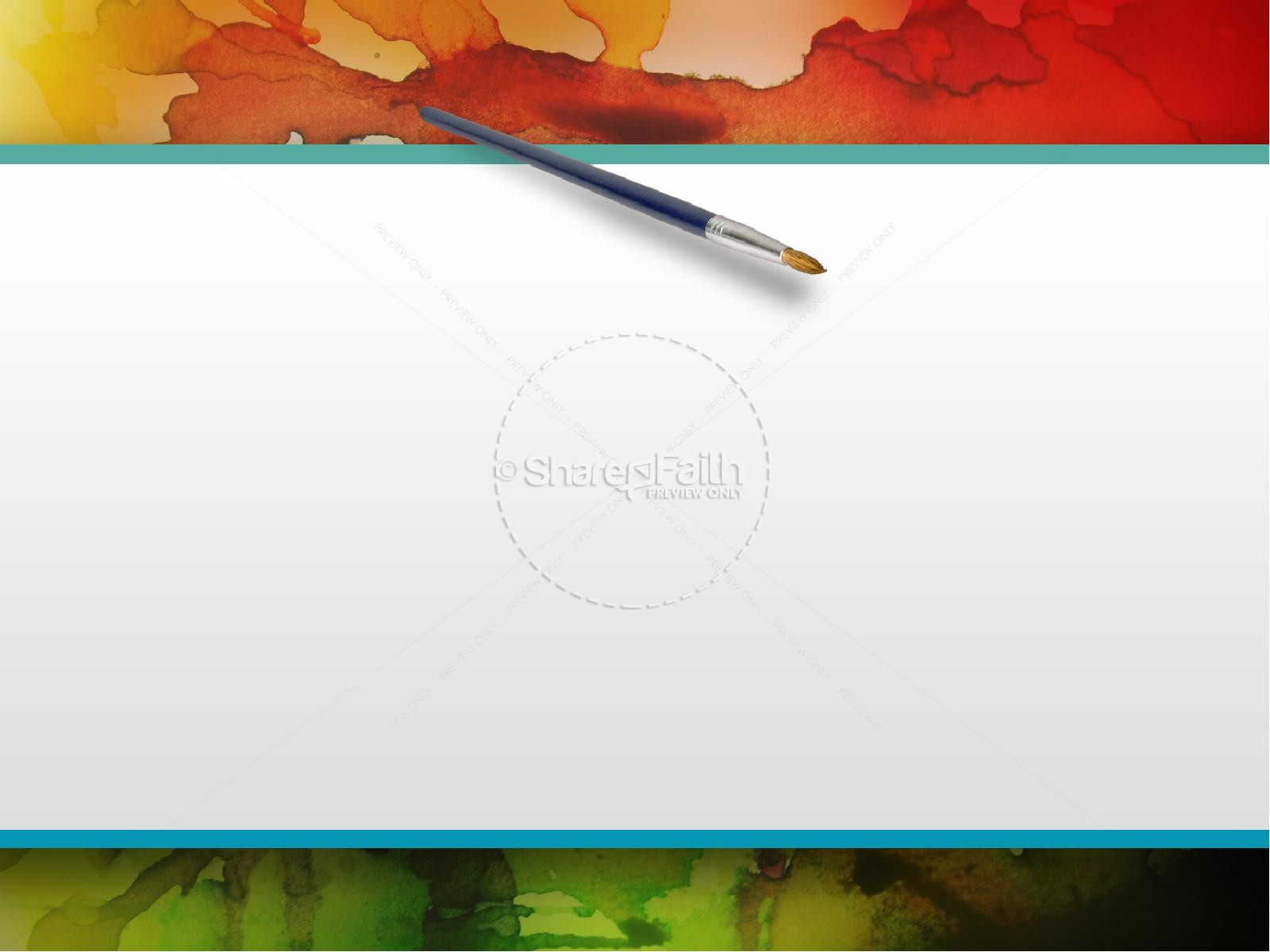 Colorful PowerPoint Sermon Template