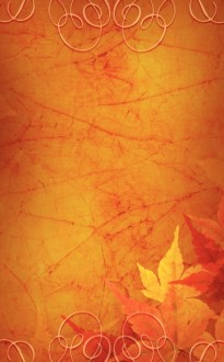 Thanksgiving Colors Church Bulletin Cover