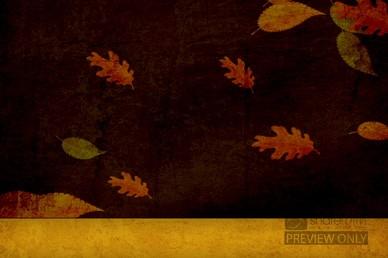 Falling Leaves Worship Video Loop