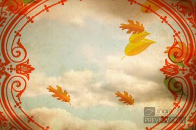 Autumn Leaves Worship Video Loop