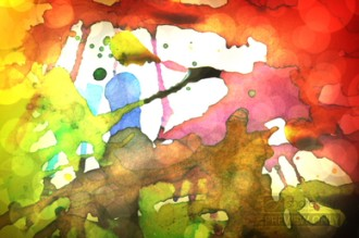 Colorful Paint Church Worship Video Loop