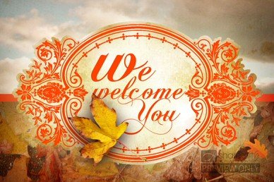 Fall Foliage Church Welcome Video