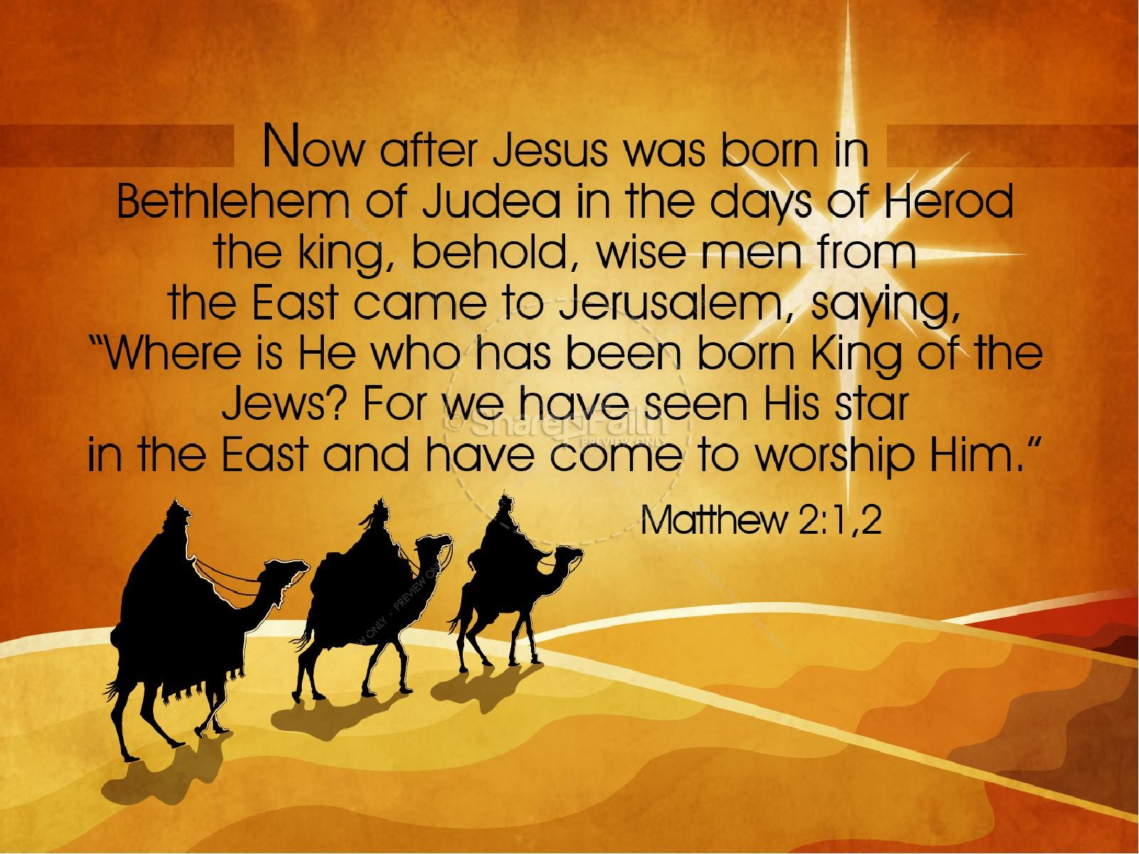 Three Kings Christmas PowerPoint | slide 5