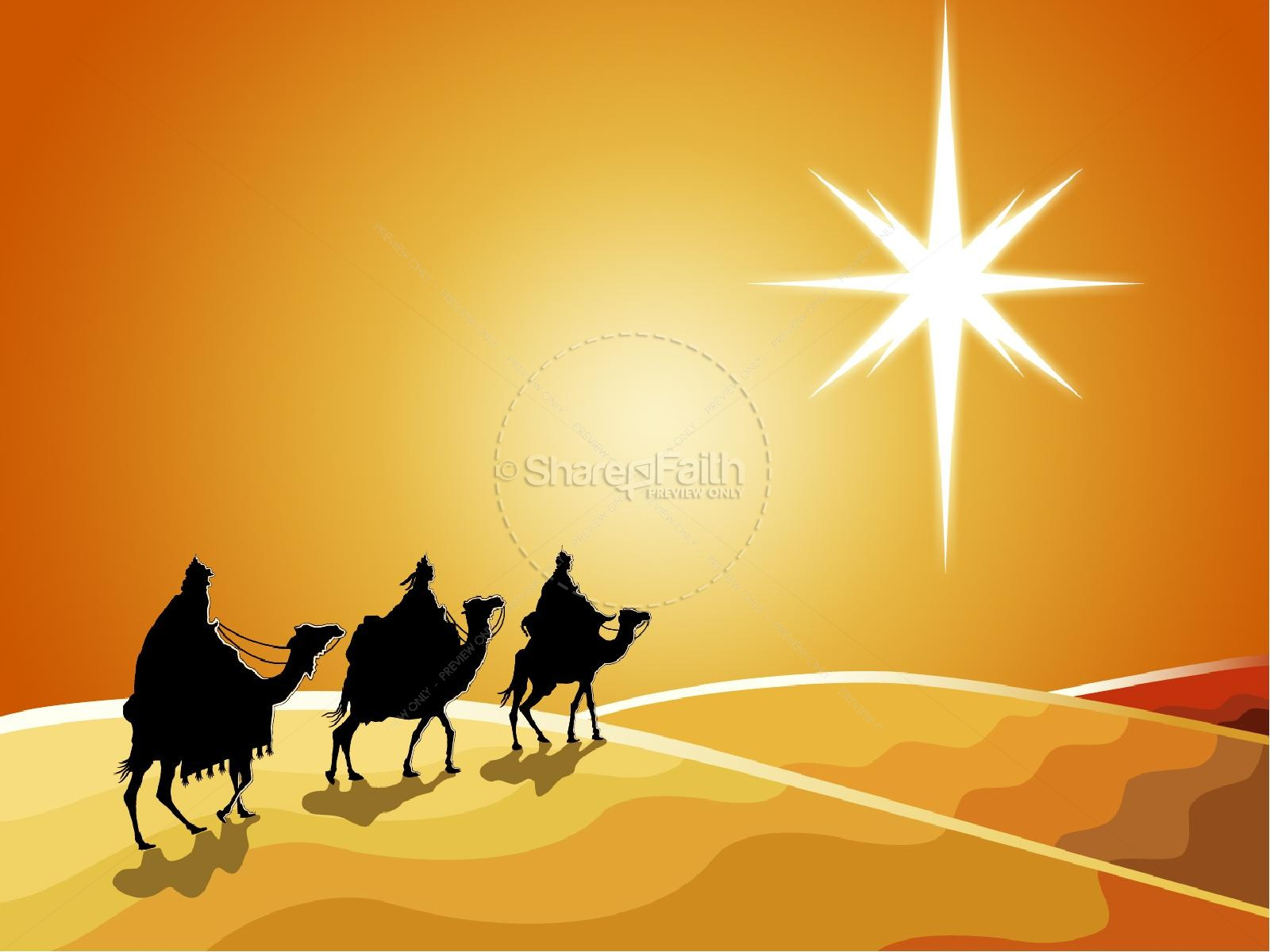 Three Kings Christmas Powerpoint Christmas Powerpoints