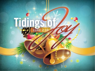 Tidings of Joy Christmas PowerPoint