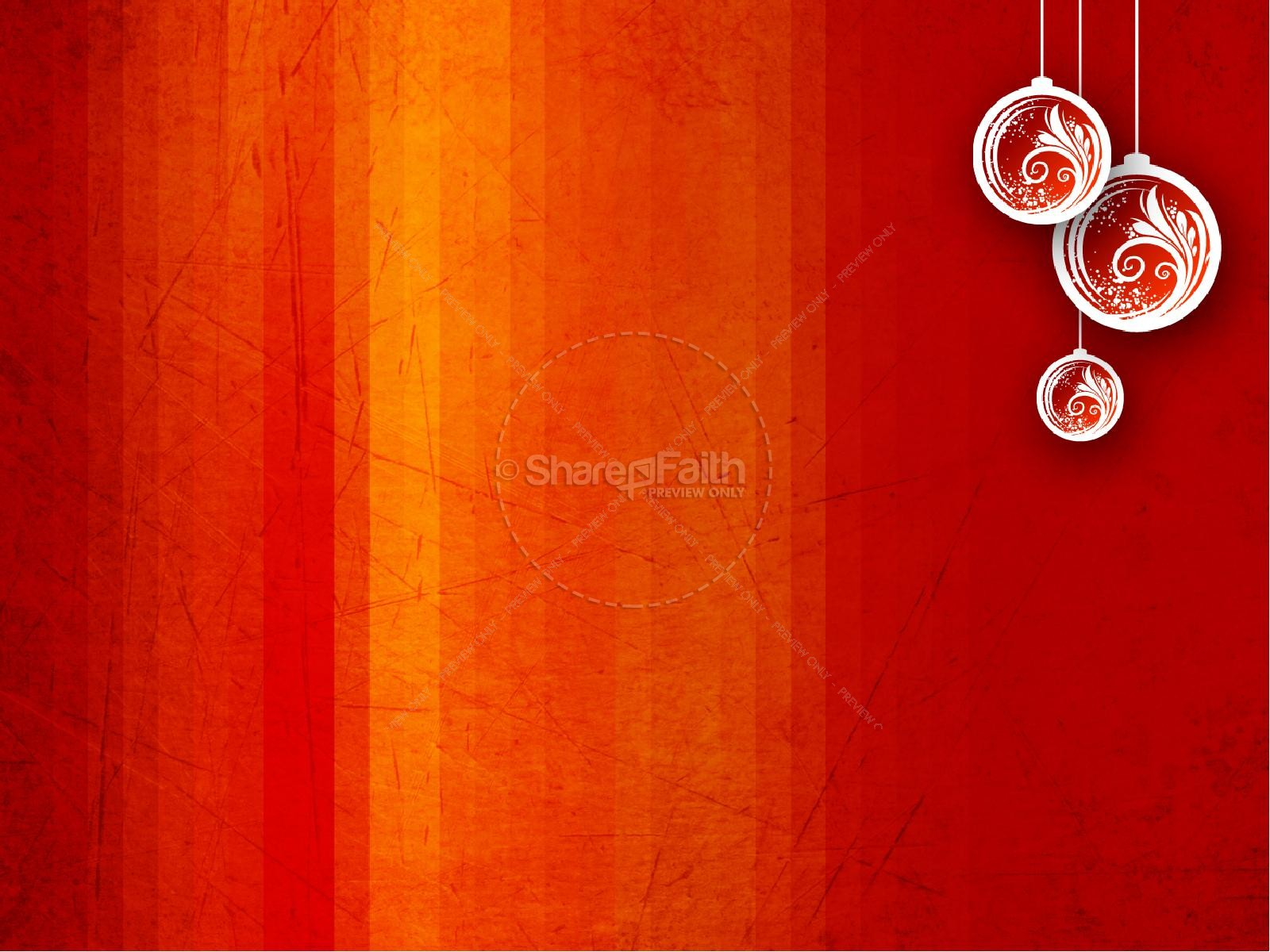 Christmas Spirit PowerPoint Template
