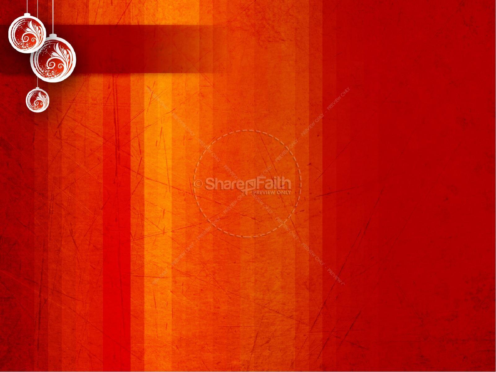 Christmas Spirit PowerPoint Template | slide 9