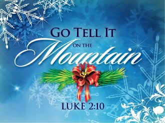 Go Tell It On The Mountain PowerPoint Template