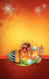 Christmas Gifts Church Bulletin Cover