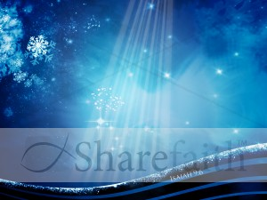Snow Worship Background