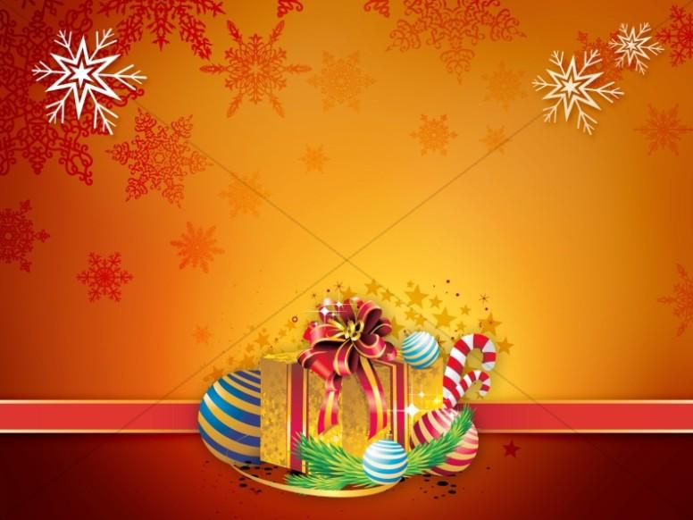 Christmas Gift Worship Background