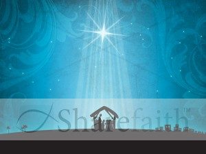 Nativity Scene Background