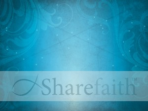 Christmas Snow Worship Background