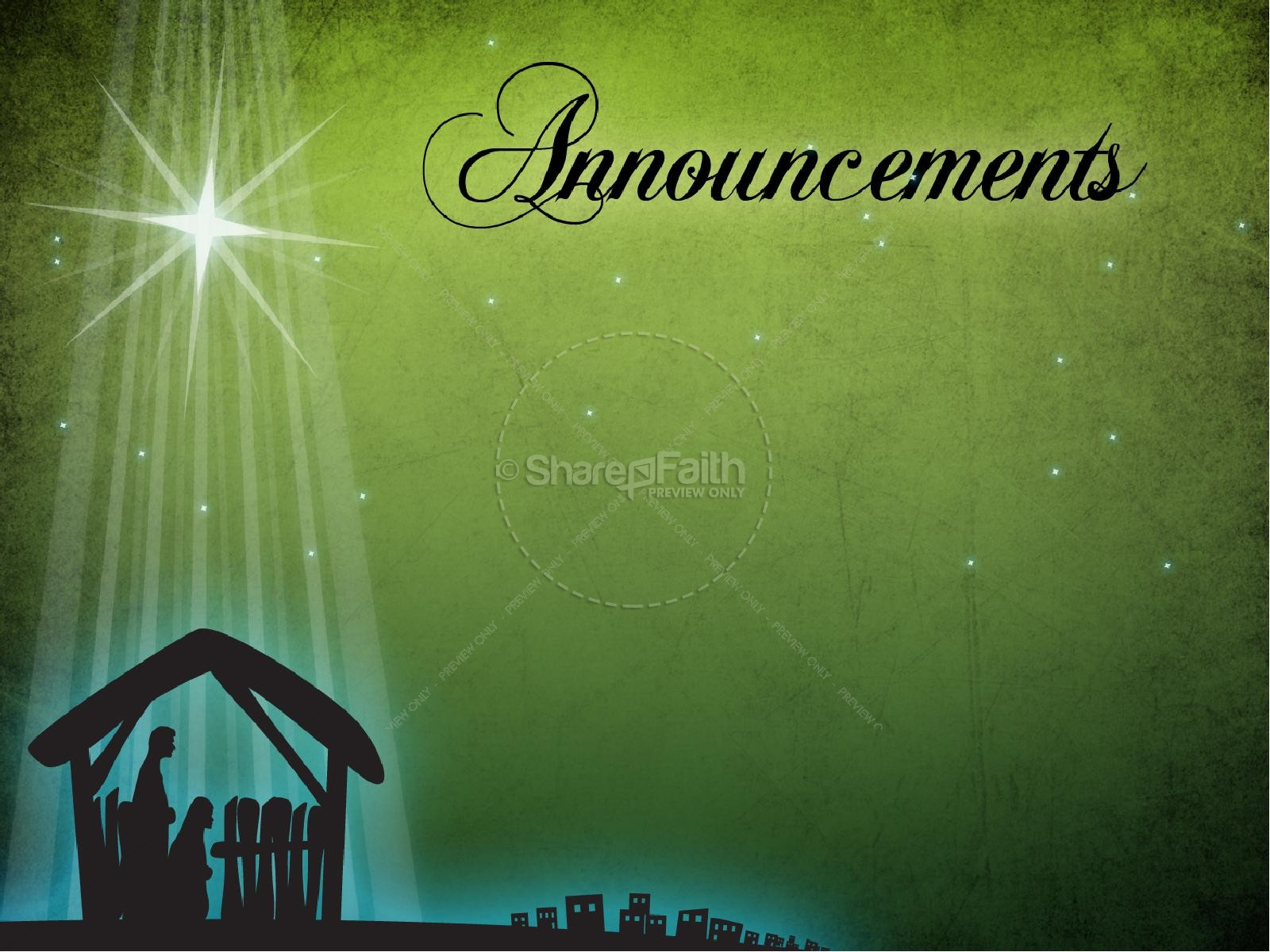 Advent PowerPoint Sermon