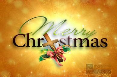 Christmas Church Video