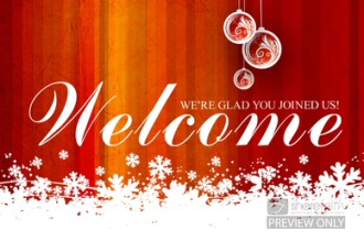 Christmas Video Welcome Loop